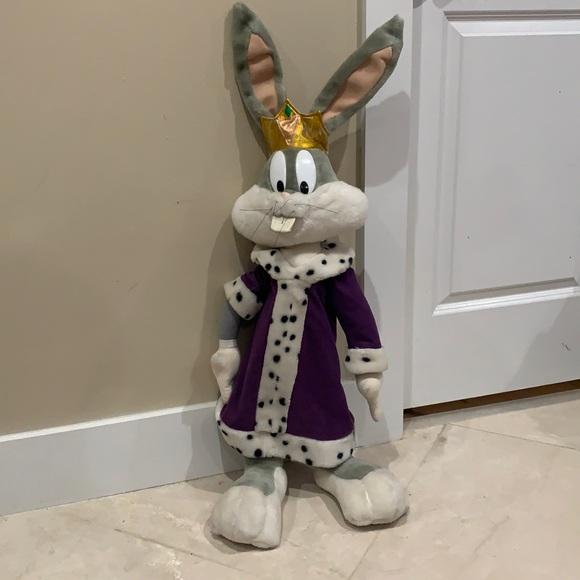 1997 Looney Tunes Bugs Bunny stuffed animal
